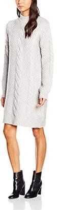 Gestuz Women's Sanni Knit Plain Long Sleeve Dress,(Manufacturer Size:Large)