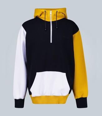 Marni Colorblocked hooded sweatshirt