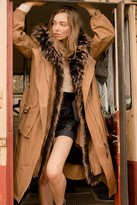 J.ING Payne Brown Fur Lined Parka