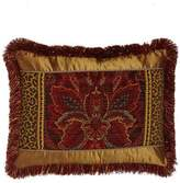 Dian Austin Couture Home Standard Bohemian Rhapsody Patch Sham with Fringe