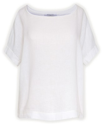 Gerard Darel July - Loose-fitting Ramie Linen T-shirt