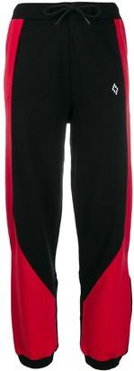 Marcelo Burlon County of Milan Colour-Block Logo Track Pants