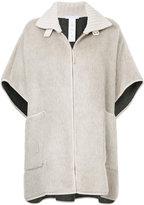 Fabiana Filippi short-sleeved oversized jacket