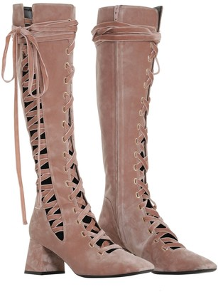 Zimmermann Lace up tall Boot - ShopStyle