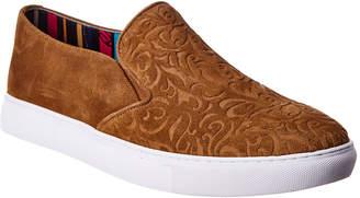 Robert Graham Cormac Suede Slip-On Sneaker