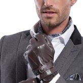Matsu Gloves MATSU Men Winter Super Warm Lambksin Leather Gloves M2011 (L, )