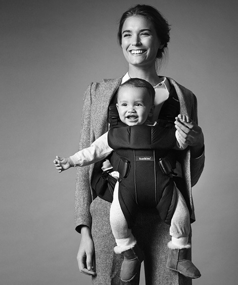 BABYBJÖRN Baby Bjorn Baby Carrier One-Cotton Mix