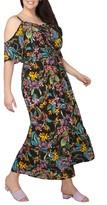 Dorothy Perkins Plus Size Women's Off The Shoulder Maxi Dress