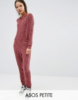 Asos LOUNGE Ribbed Neppy Jumpsuit