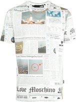 Love Moschino newspaper print T-shirt