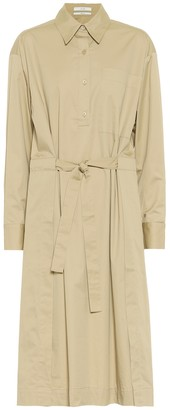 Co Belted cotton shirt dress