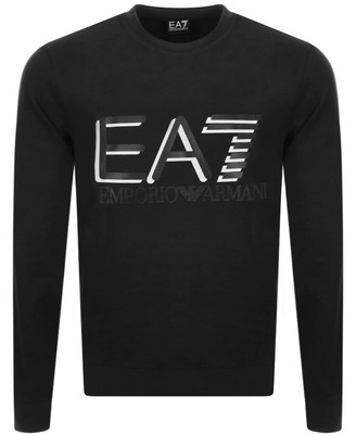 EA7 Emporio Armani Logo Sweatshirt Black