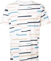 Wesc Max broken stripe T-shirt - men - Cotton - S