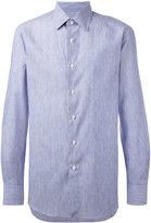 Boglioli striped shirt - men - Cotton/Linen/Flax - 40