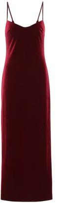 Galvan Berlin velvet bustier dress