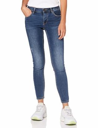 Vero Moda Women's VMLYDIA LR Skinny DESTR J LI326 GA NOOS Jeans