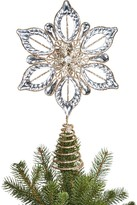 Bloomingdale's Gold Glitter Snowflake Tree Topper - 100% Exclusive