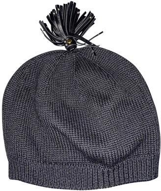 Prada Black Wool Hats