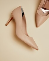 Ted Baker WISHIRI Pointed toe leather court shoes