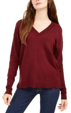 Planet Gold Juniors' V-Neck Sweater