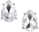 Thalia Sodi Silver-Tone Crystal Teardrop Stud Earrings, Only at Macy's