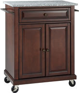 Asstd National Brand Wellman Granite-Top Kitchen Cart