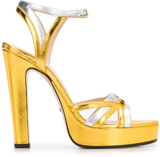 Gucci GG logo sandals