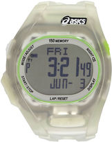 Asics Ar08 Night Run Unisex Clear Strap Watch-Cqar0802y