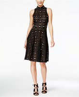 INC International Concepts Lace Fit & Flare Dress, Only at Macy's