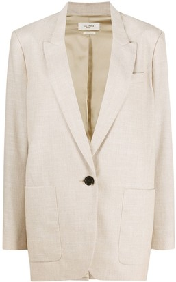 Etoile Isabel Marant Single Breasted Blazer