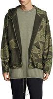 Yeezy Camouflage-Print Anorak Jacket