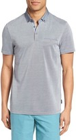 Ted Baker Men's Woven Collar Polo