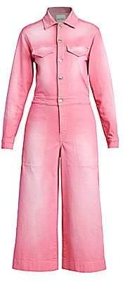 Kenzo Women's Denim Culotte Jumpsuit