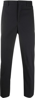 Neil Barrett Side-Stripe Slim Cropped Trousers