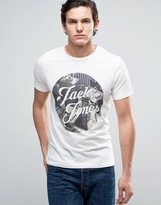 Jack and Jones Originals T-Shirt with Graphic Print
