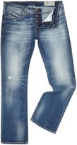 Diesel Zatiny 84dd Bootcut Light Wash Jeans