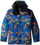 Quiksilver Big Boys' Mission Printed Youth Jacket