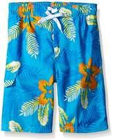 Kanu Surf Boys' Costa Floral Swim Trunk