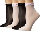 Kate Spade 4-Pack Anklet Socks Women's Low Cut Socks Shoes