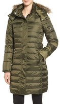 Sam Edelman Faux Fur Trim Down & Feather Fill Puffer Coat