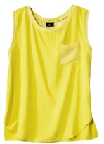 Mossimo Women's Tank Top -Yellow