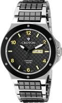 Croton Men's CN307500SSYL Millenium Analog Display Quartz Two Tone Watch