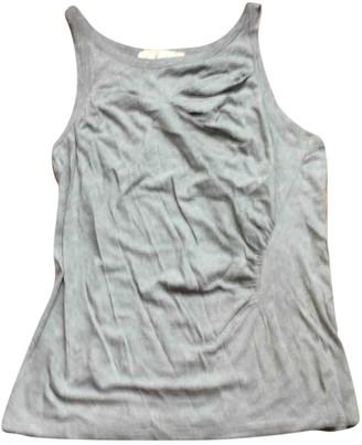 Vanessa Bruno Grey Cotton Top for Women