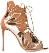 Casadei lace-up sandals