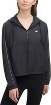 Thumbnail for your product : DKNY Colorblock Hooded Windbreaker Jacket
