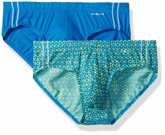 2xist Evolve Men's Micro Mesh Comfort No Show Brief Multipack Underwear
