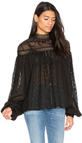 Acler Barton Blouse in Black