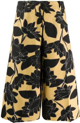 Jacquemus Le short dhomme floral culottes
