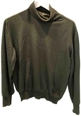 Hermes Khaki Cashmere Knitwear & Sweatshirts