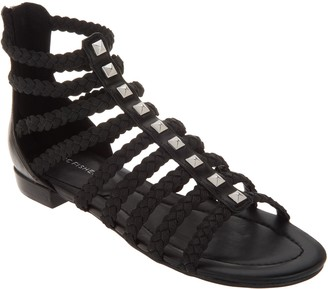 Marc Fisher Braid Detailed Gladiator Sandals - Pepita